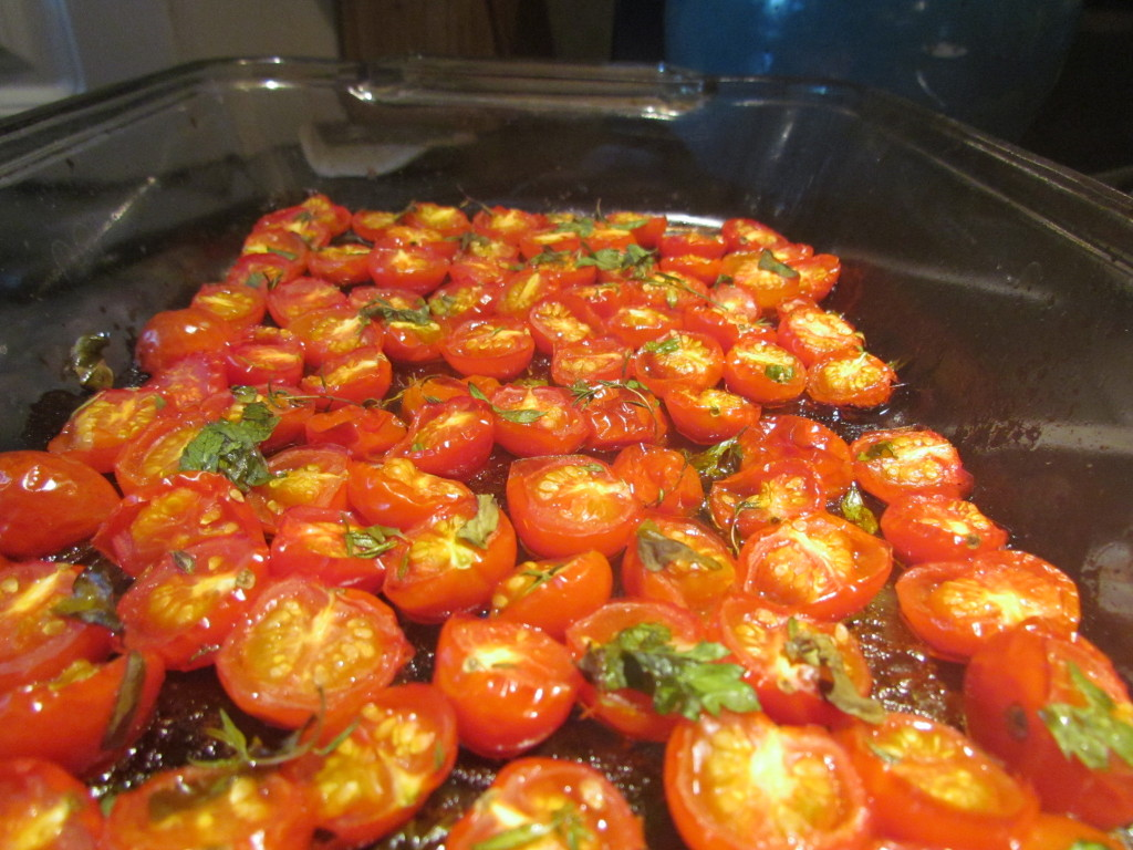 Freezer preserving oven roasted cherry tomatoes can keep the taste of ...
