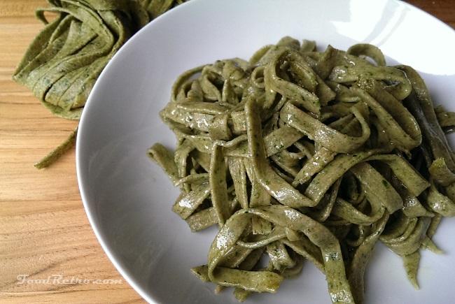 Easy Fresh Spinach Amp Spelt Pasta