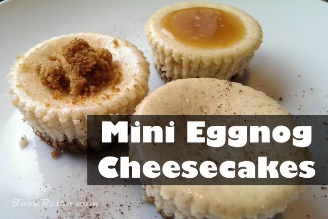 Cheesecake with Real Eggnog and Rum 1
