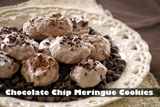 Chocolate Chip Meringue Cookies (and What to Do with Pesky Leftover ...