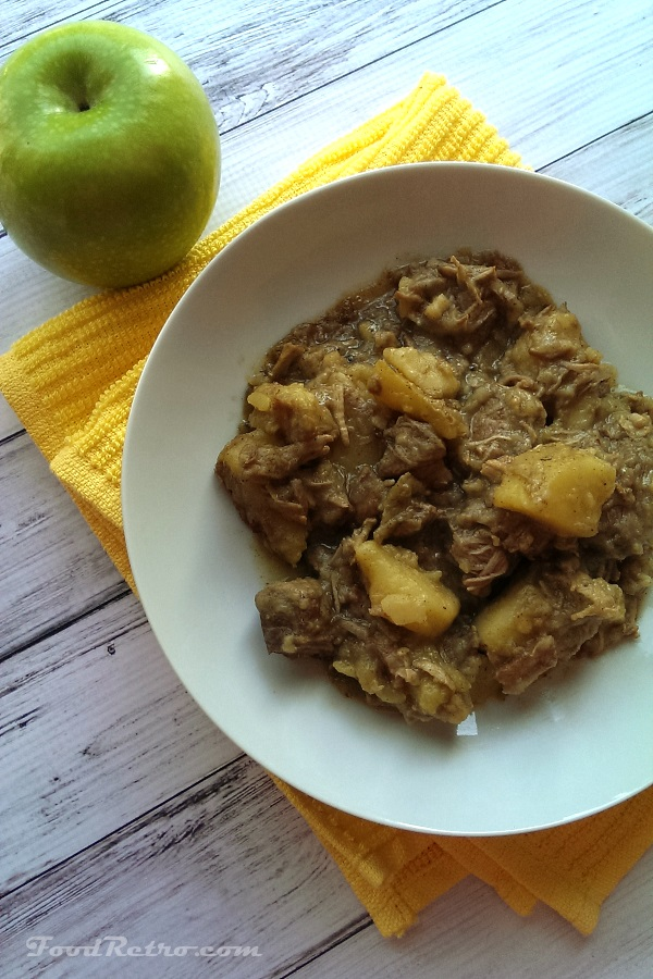 Pork Stew with Strongbow and Apples