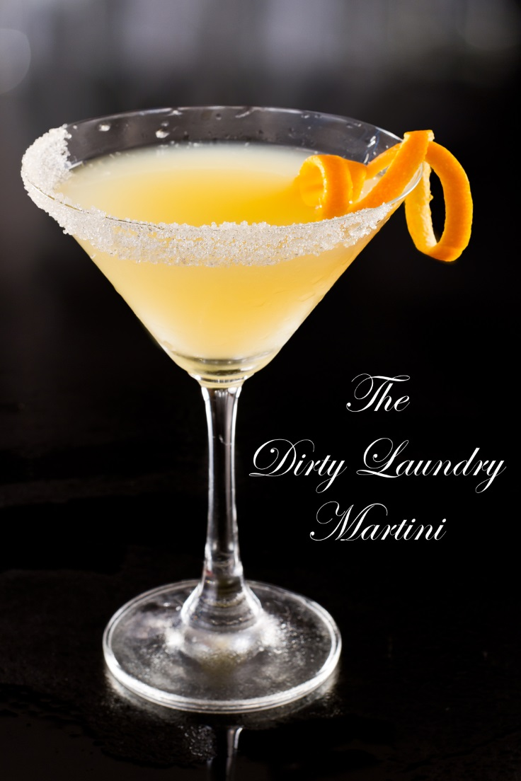 The Dirty Laundry Martini - This sweet martini is mom's best solution to coping with folding tons of socks.