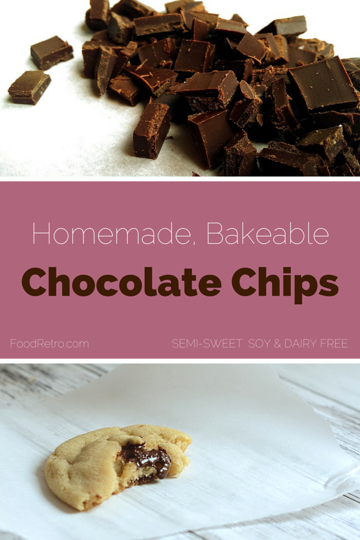 A fast, vegan, and allergy-friendly bakeable chocolate made without soy lecithin or dairy. Use it to make chocolate chips, candies, barks, and chocolate bars from scratch!