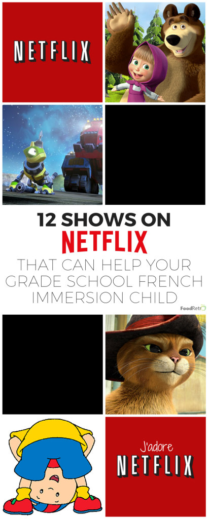 12 shows on netflix that can help your grade school french for Fishing shows on netflix