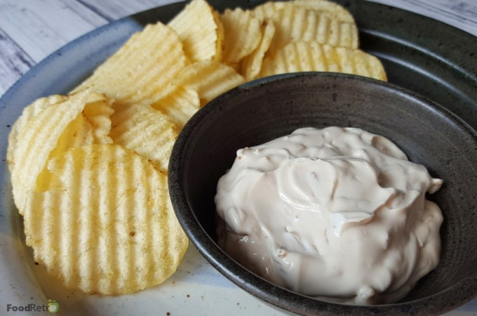 Super Simple Sour Cream and Onion Dip